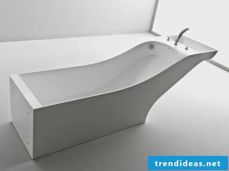 modern white porcelain sink