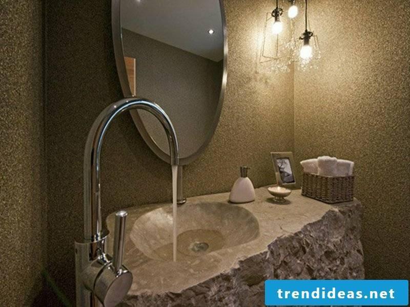 modern natural stone sink