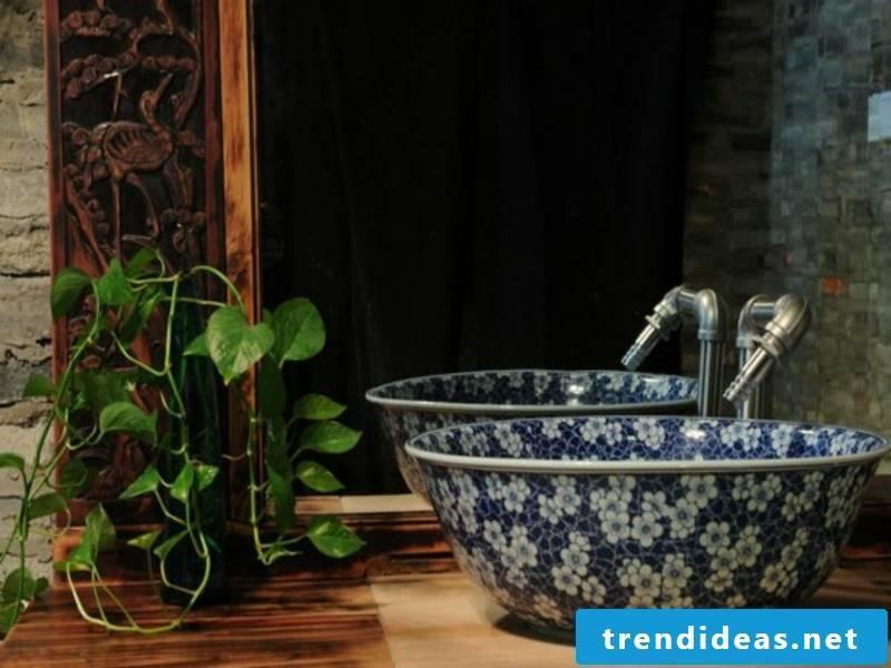bathroom ideas for blue sink
