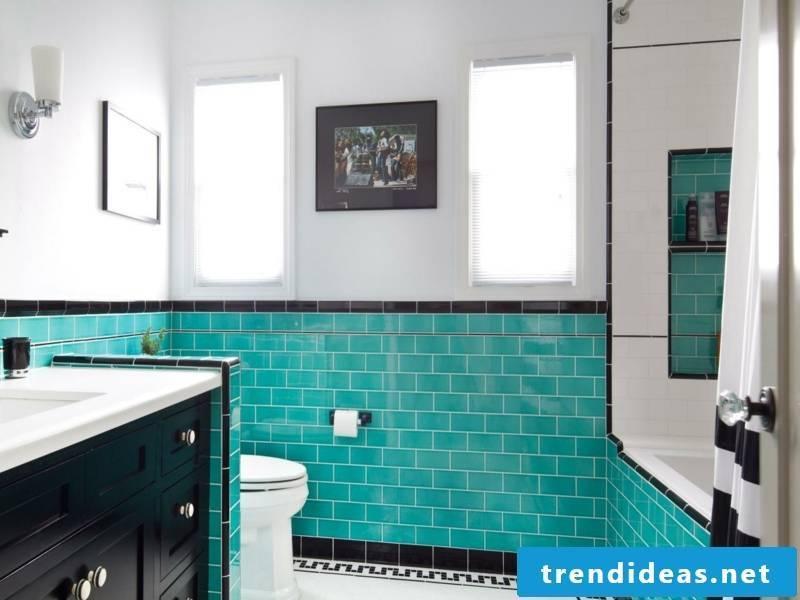 vintage bathroom with blaeun designer flow