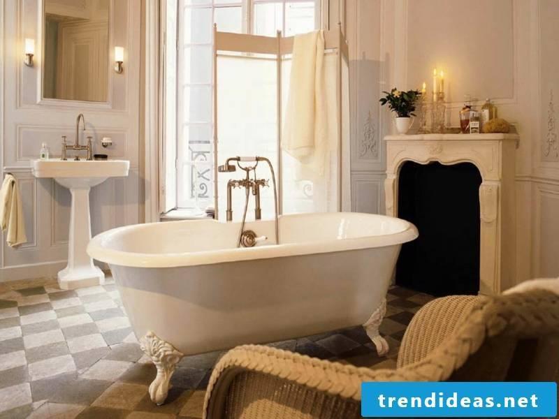 the bathtub as an accent