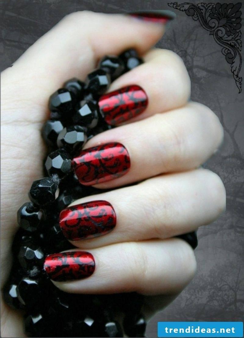dark red vampire halloween