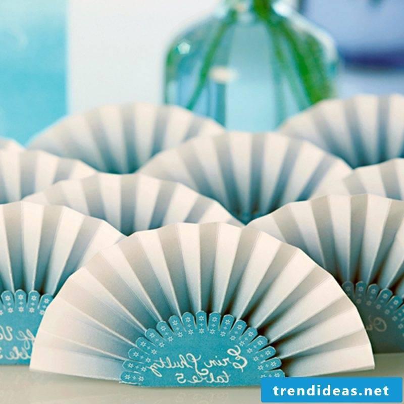 Napkins folding fan paper napkins