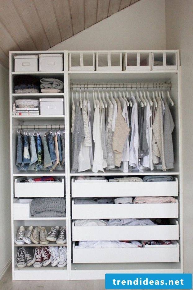 The best ideas and Ikea hacks for your wardrobe