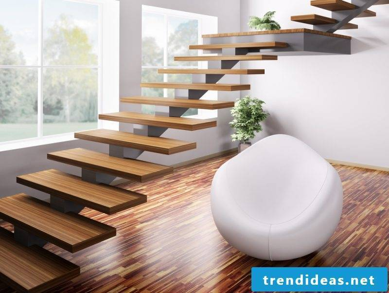 Bolts staircase Without railings save space
