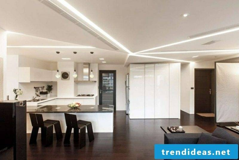 LED ceiling lighting attractive lighting effects