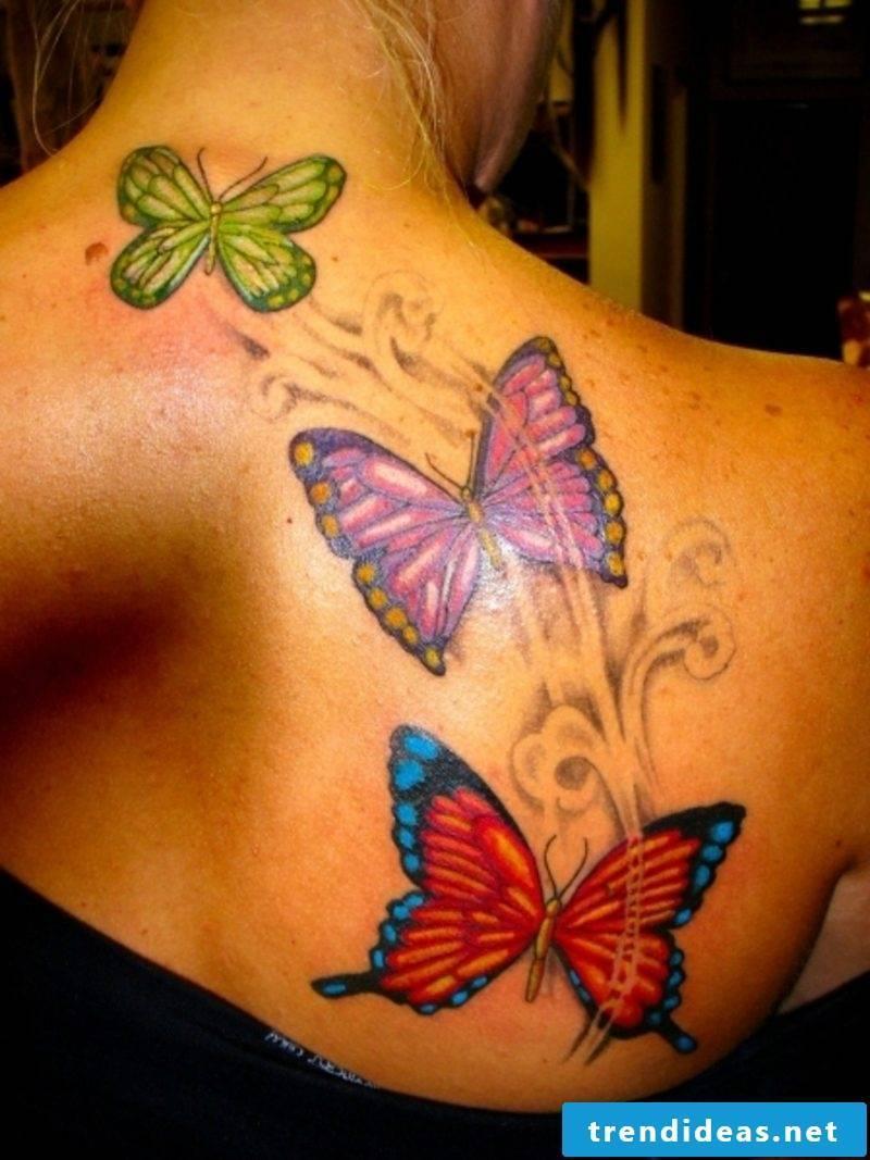 Butterfly Tattoos Women