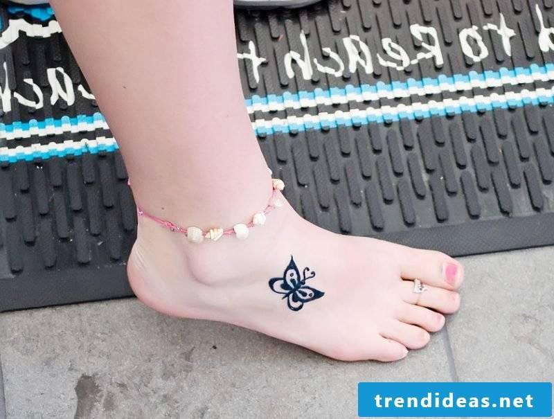 Little butterflies tattoos