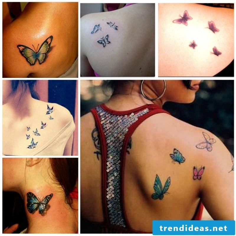 The symbolize the butterfly tattoos: butterfly meaning is versatile