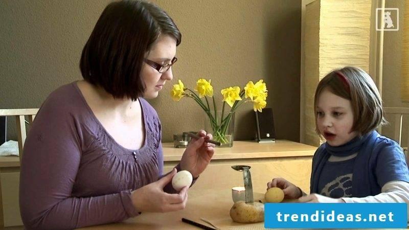 DIY sorbian easter eggs