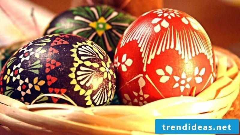 Sorbian easter eggs design ideas