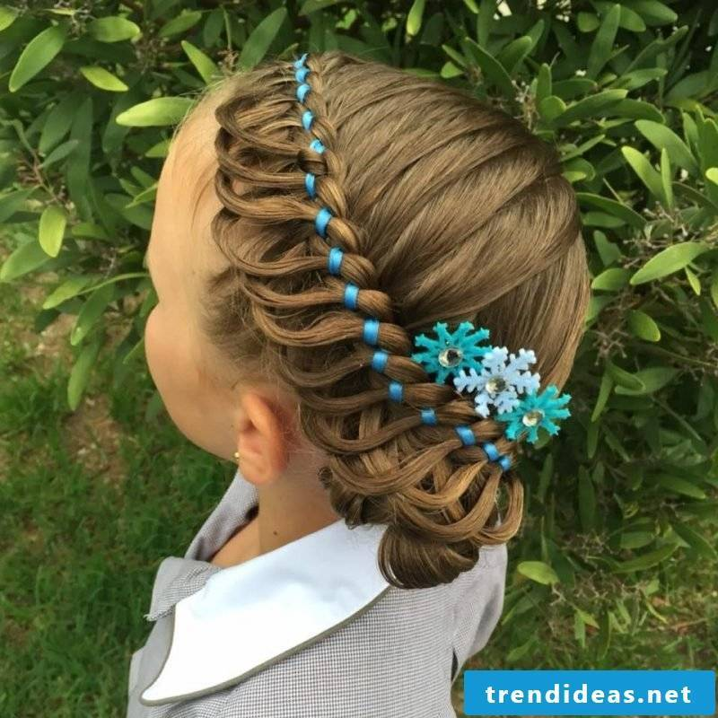 Communion hairstyles children