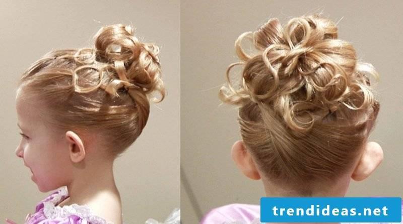 Communion Hairstyles Updo