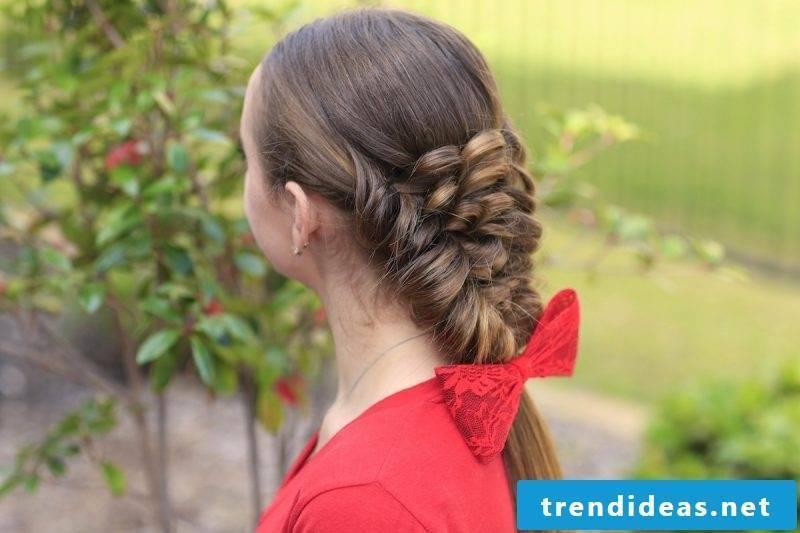 Communion hairstyles ideas children