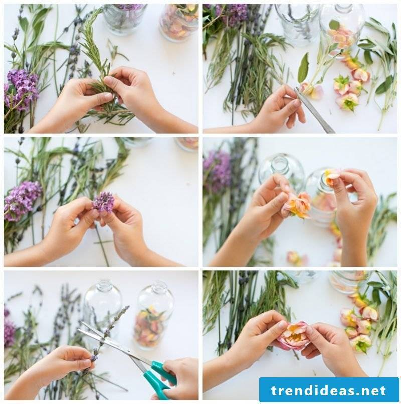 DIY Mother's Day Gifts: Making Herbal Perfume Yourself