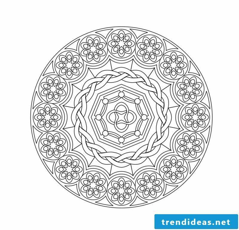 mandala templates for personal maturation