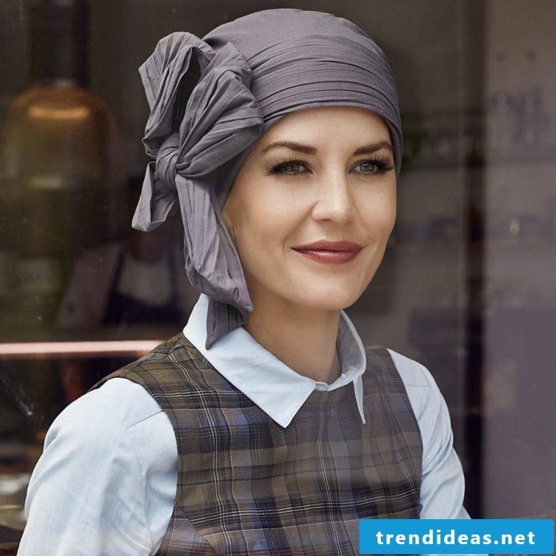 Tie scarf tie bow pirate scarf