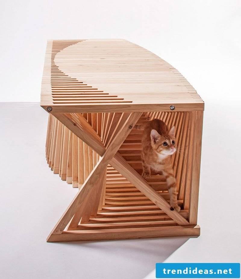 Cat furniture homemade