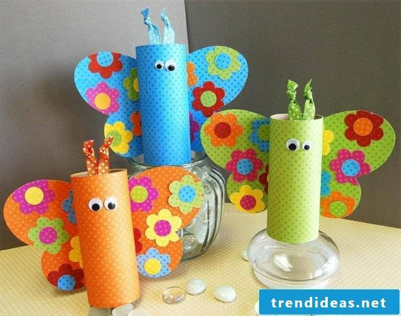 Creative craft ideas with toilet paper rolls