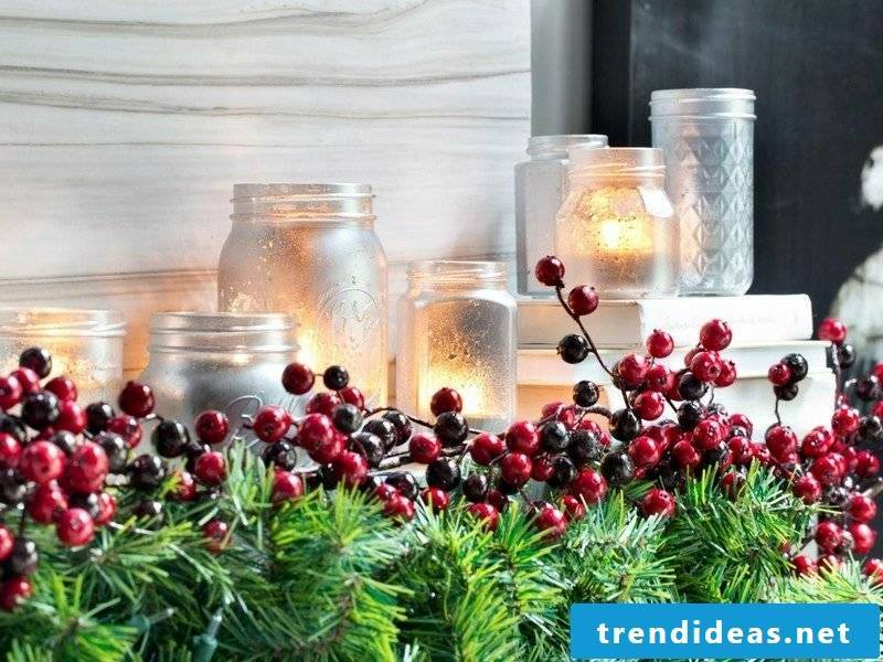 DIY ideas make Christmas lanterns yourself