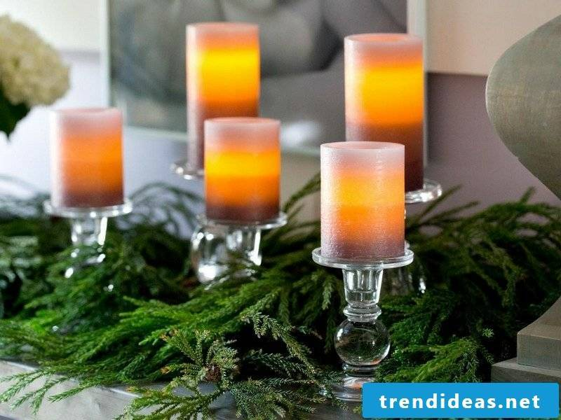 DIY ideas make decoration yourself Christmas