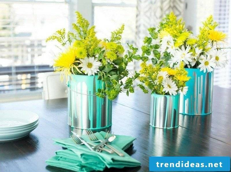 Make crafting ideas Spring decoration yourself