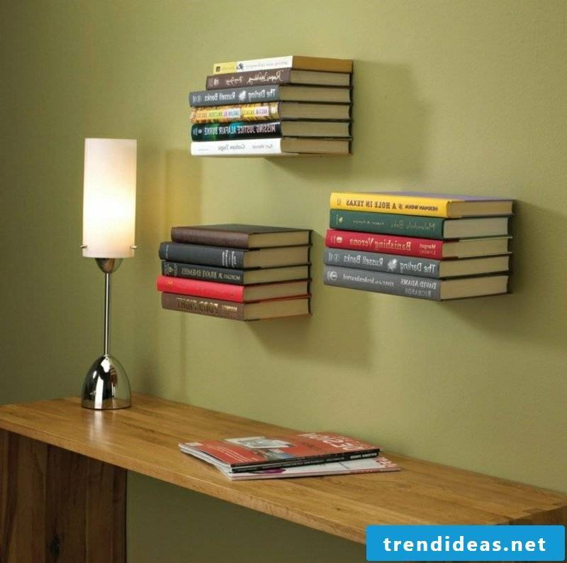 Shelf ideas books upcycling