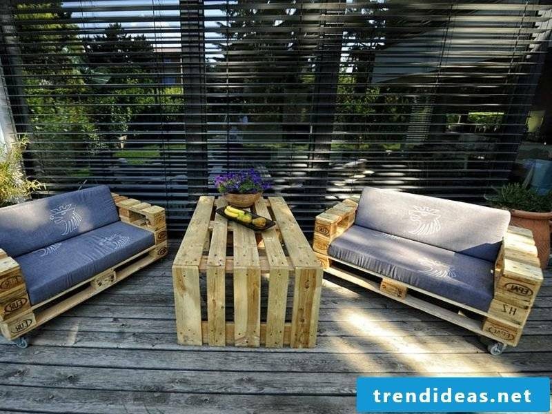 Pallet Ideas Terrace
