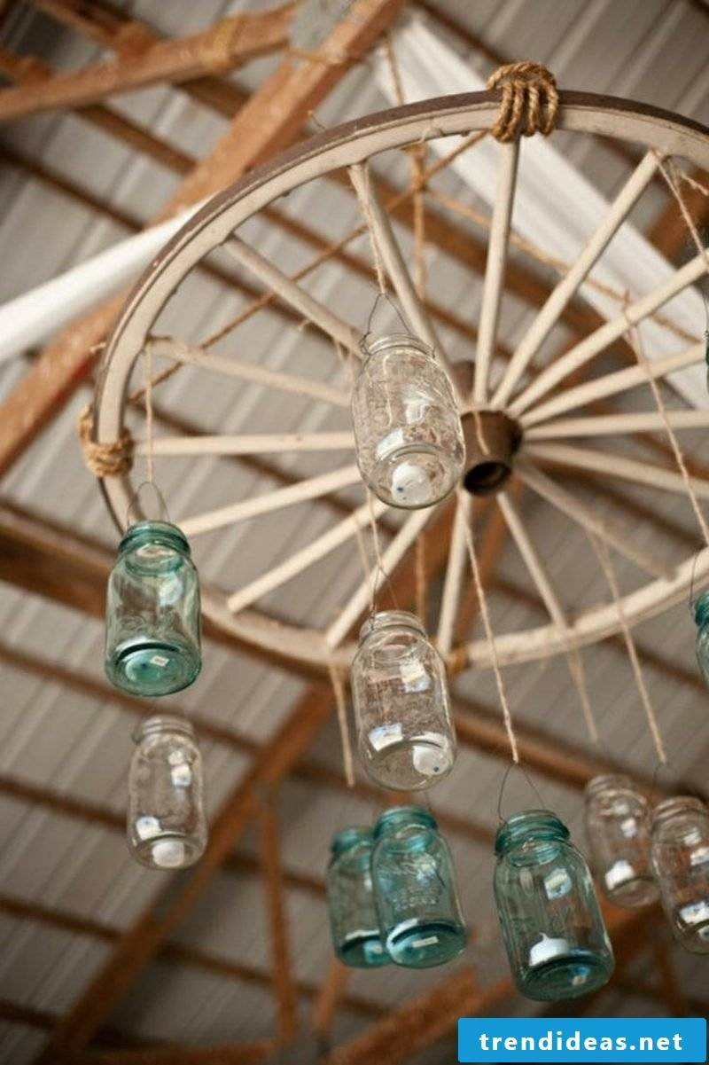 creative ideas make chandeliers themselves