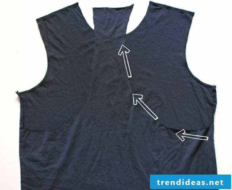 Upcycling Clothing Yoga Top