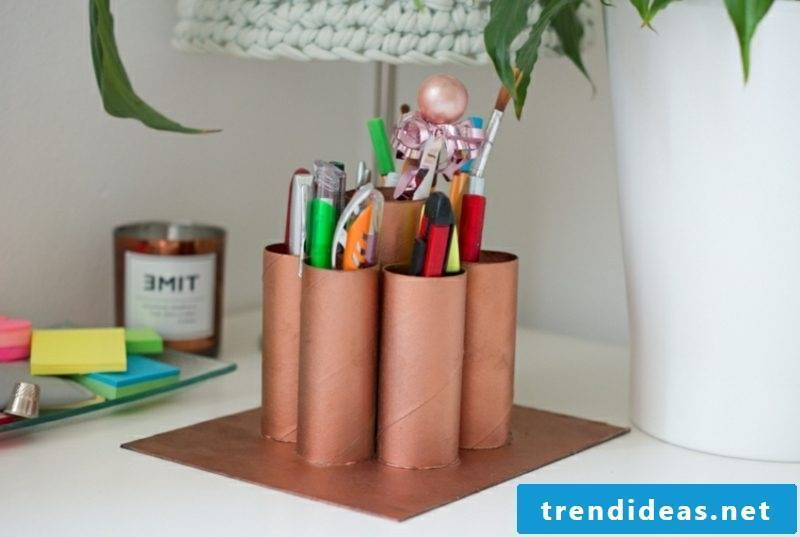 Creative Ideas Upcycling Pen Holder