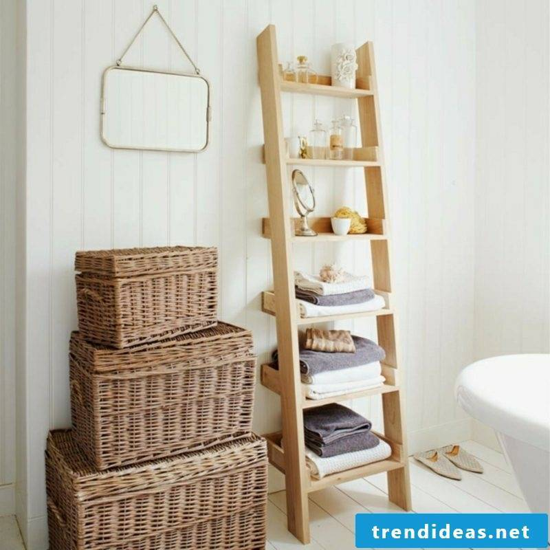 Regal ideas old ladder upcycling