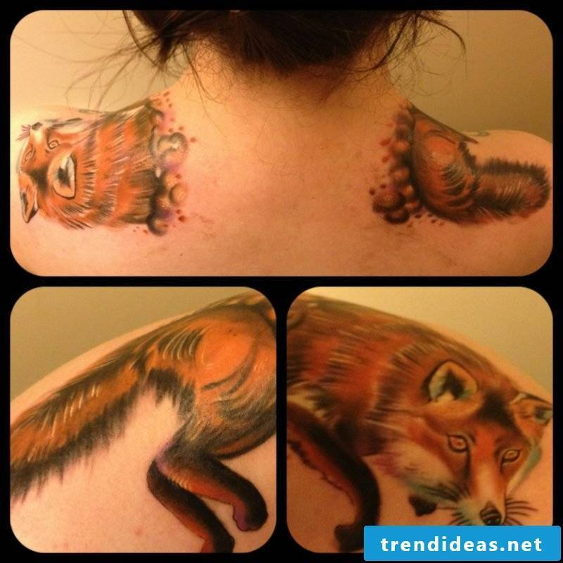 37 Beautiful Ideas For A Fox Tattoo