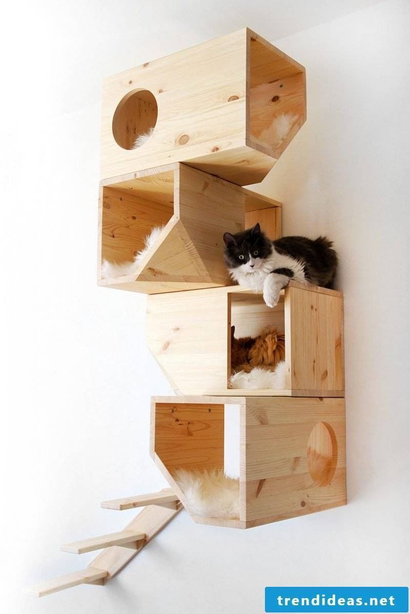 Make cat furniture yourself