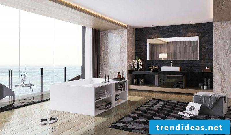 badgetsaltung ideas for a large luxury bathroom with a beautiful view and plenty of space for extra furniture