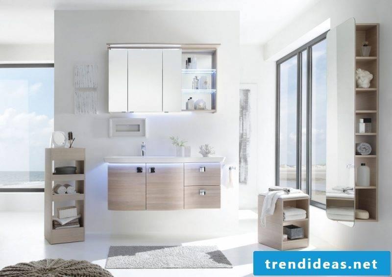badgetsaltung ideas for modern family bathroom in white color