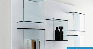 39 ideas for glass shelves for every room design