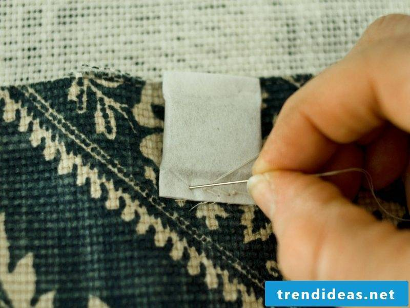 Curtain sewing instructions