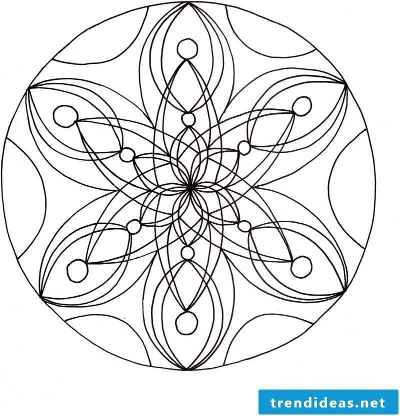 mandala templates forget the hustle and bustle of everyday life
