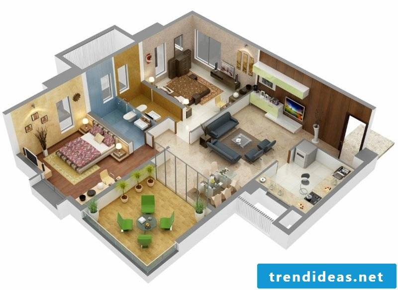3d room planner set up room