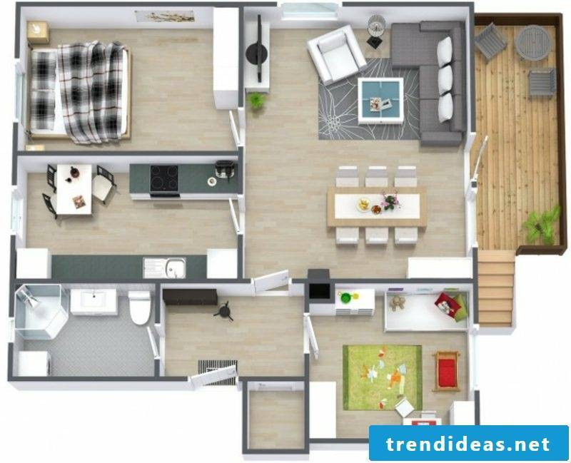 3d room planner two bedroom basement