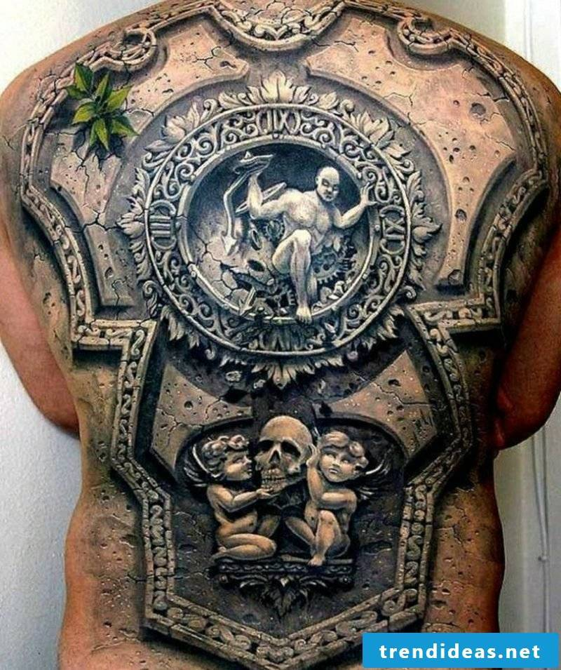 Tattoo templates Men 3D