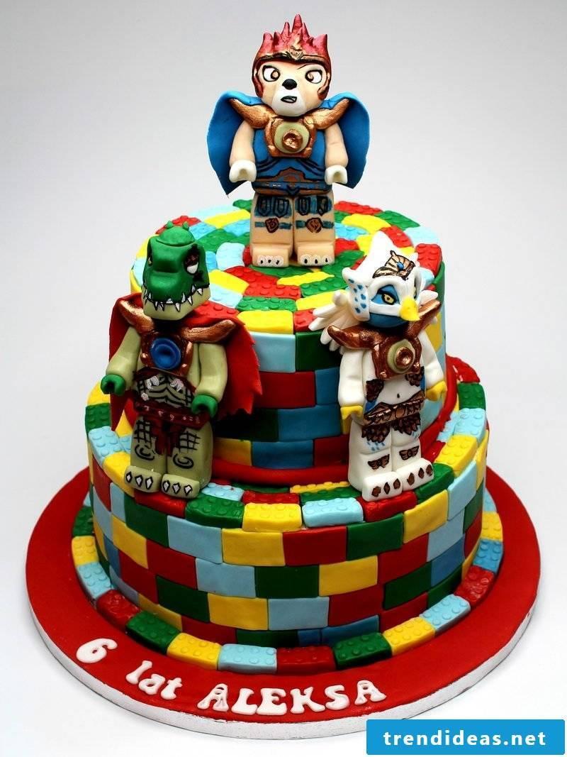 Fancy cake toy