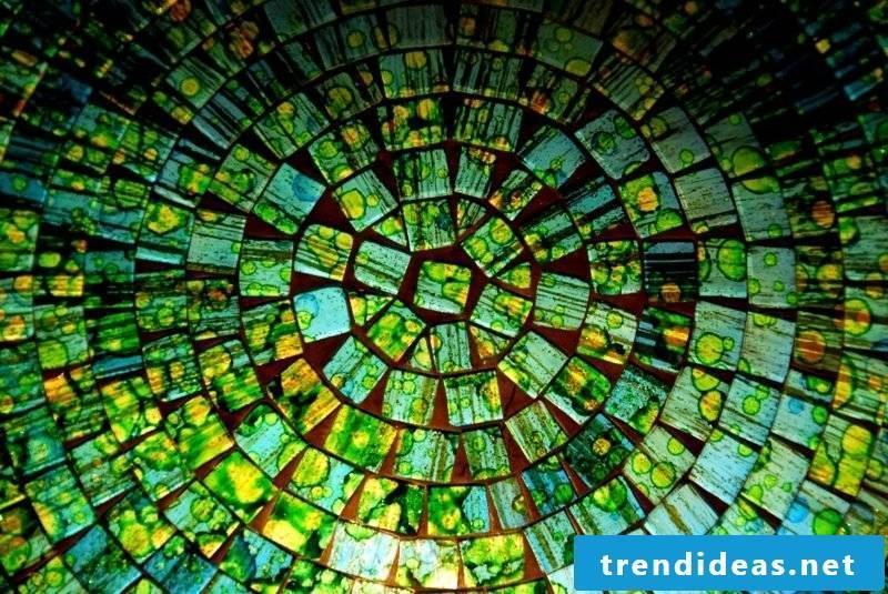 Creative crafting mosaic