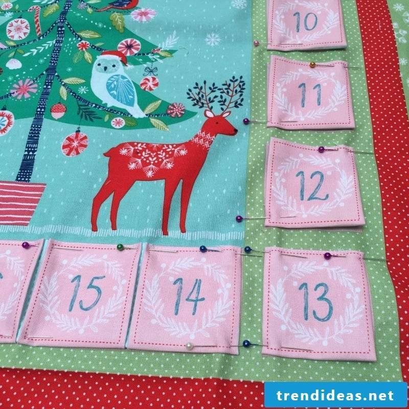 Sew Advent Calendar - Instructions Step 5