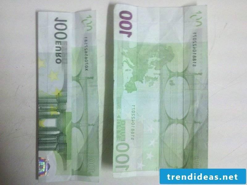 money heart fold creative