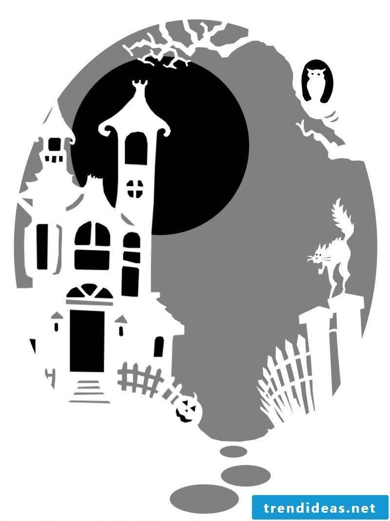 Pumpkin Templates Castle of Dracula