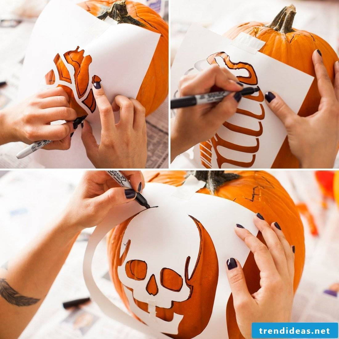 Free pumpkin templates for printing