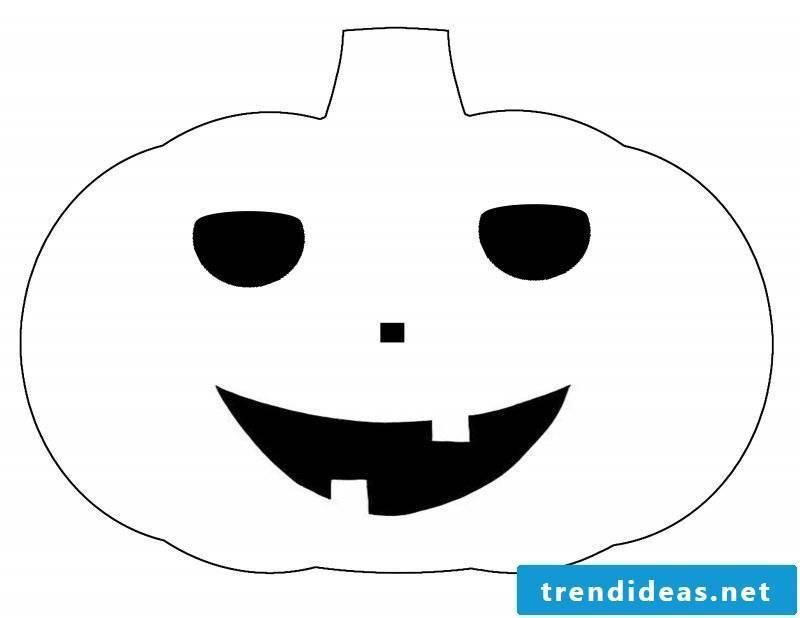 Pumpkin Templates: pumpkin on the pumpkin