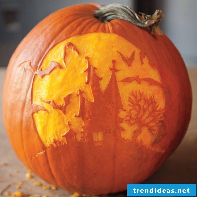 You need to cut out the pumpkin templates